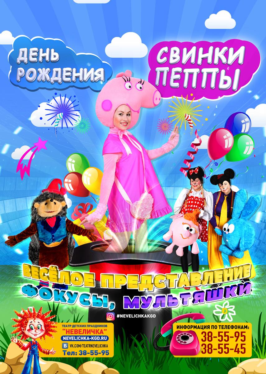 «День Рождения Хрюшки Пеппы!»