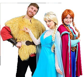 Холодное сердце: Анна, Эльза и Кристоф