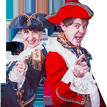 Пираты. Капитан Флинт и пиратка Натка